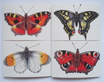 Butterfly cards (3 pack)