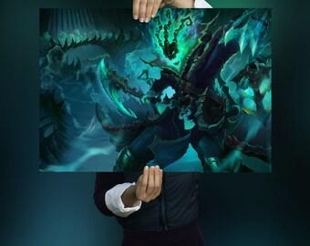 League Of Legends Thresh Poster