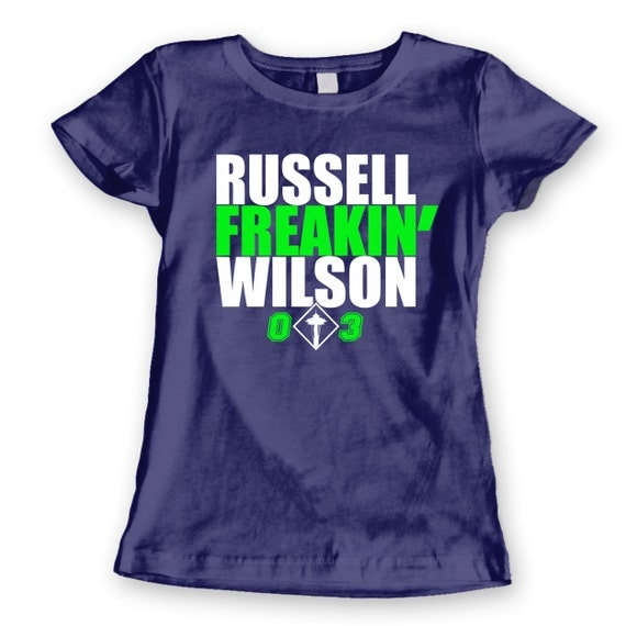 Unavailable listing on etsy for Russell wilson womens t shirt