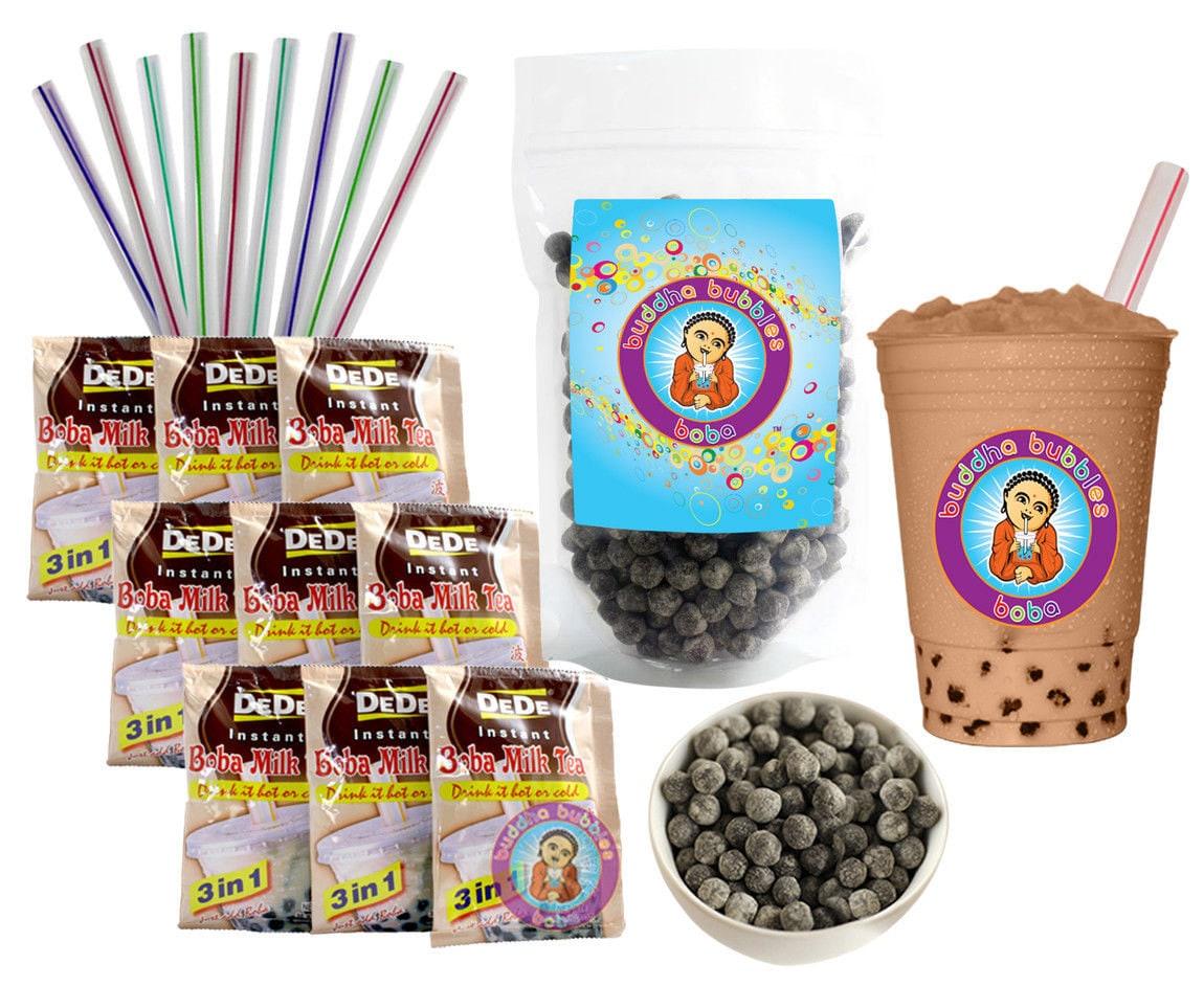 Drink DeDe Bubble Tea Kit Milk Tea Powder by BuddhaBubblesBoba