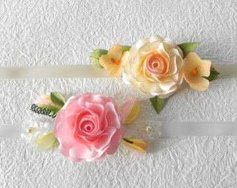 Wedding bracelets in Origami