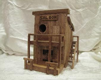 Western Saloon Birdhouse