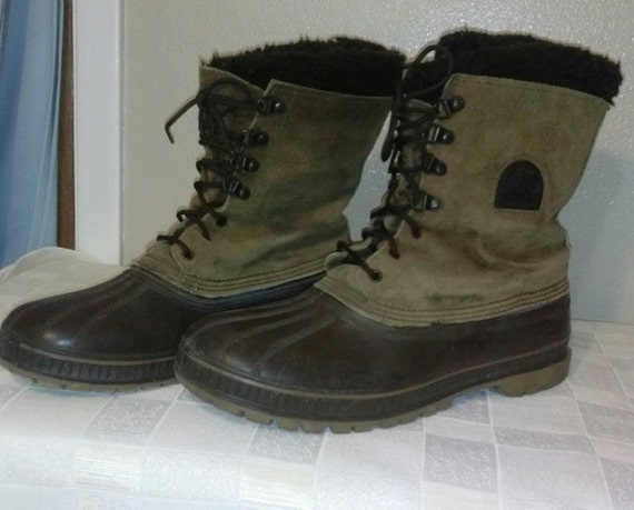 Sorel winter boots size 12 men boots made by