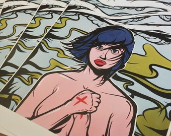 "DeadDogs - Untitled 11"" x 17"" print"