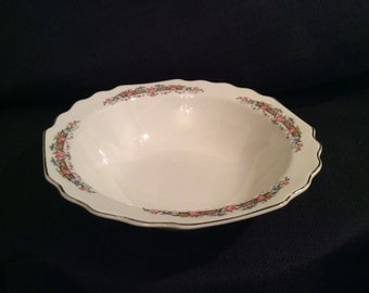 Lido W S George White Serving Bowl Made In The USA