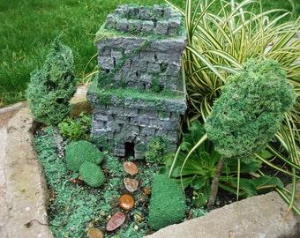 STONE FAIRY CASTLE Fairy Castle Fairy House Fairy Garden