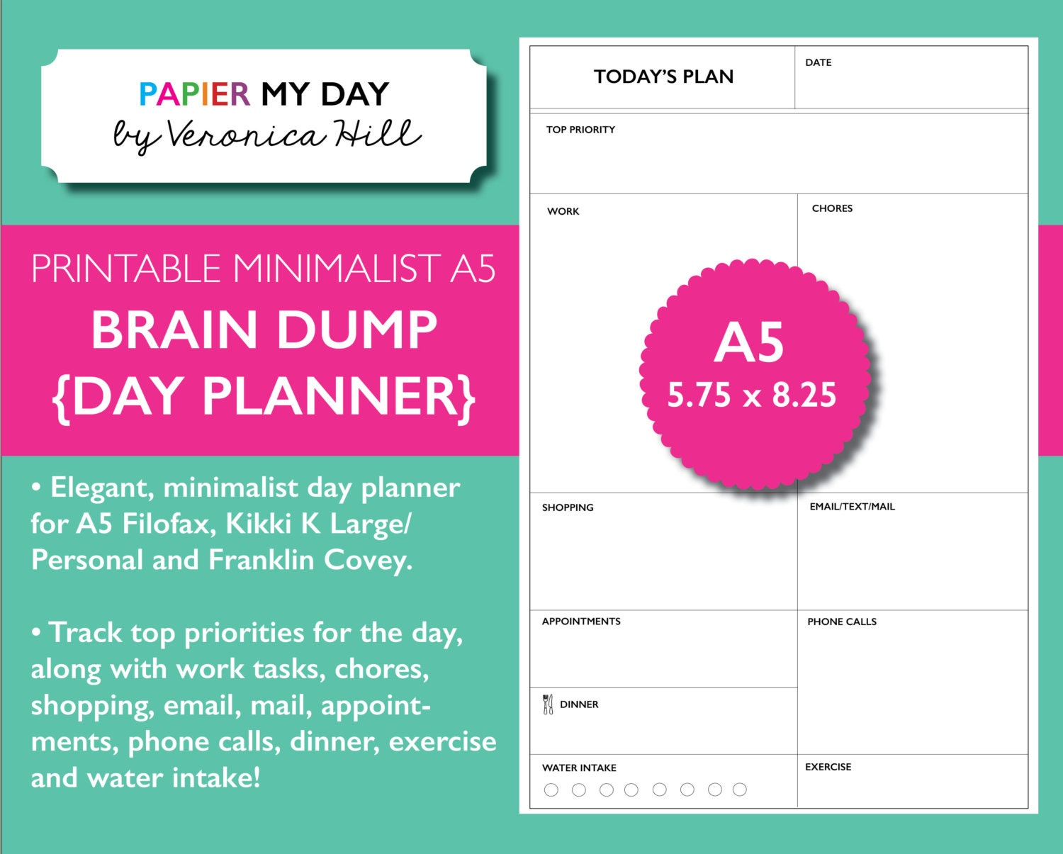 It's just an image of Dynamic Brain Dump Printable