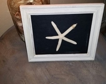 Little White Starfish Frame