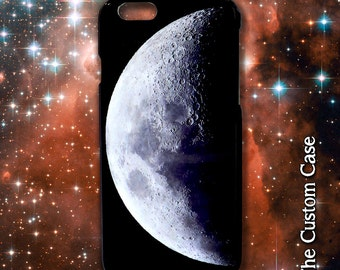 Moon Phone Case, Night Sky Iphone Case, Lunar Phone Case, Space Phone Case, Iphone 4/5/5c/6/6+, Samsung Galaxy S3/S4/S5/S6/S6 Edge