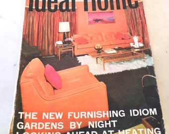 1960s june issue of ideal home magazine