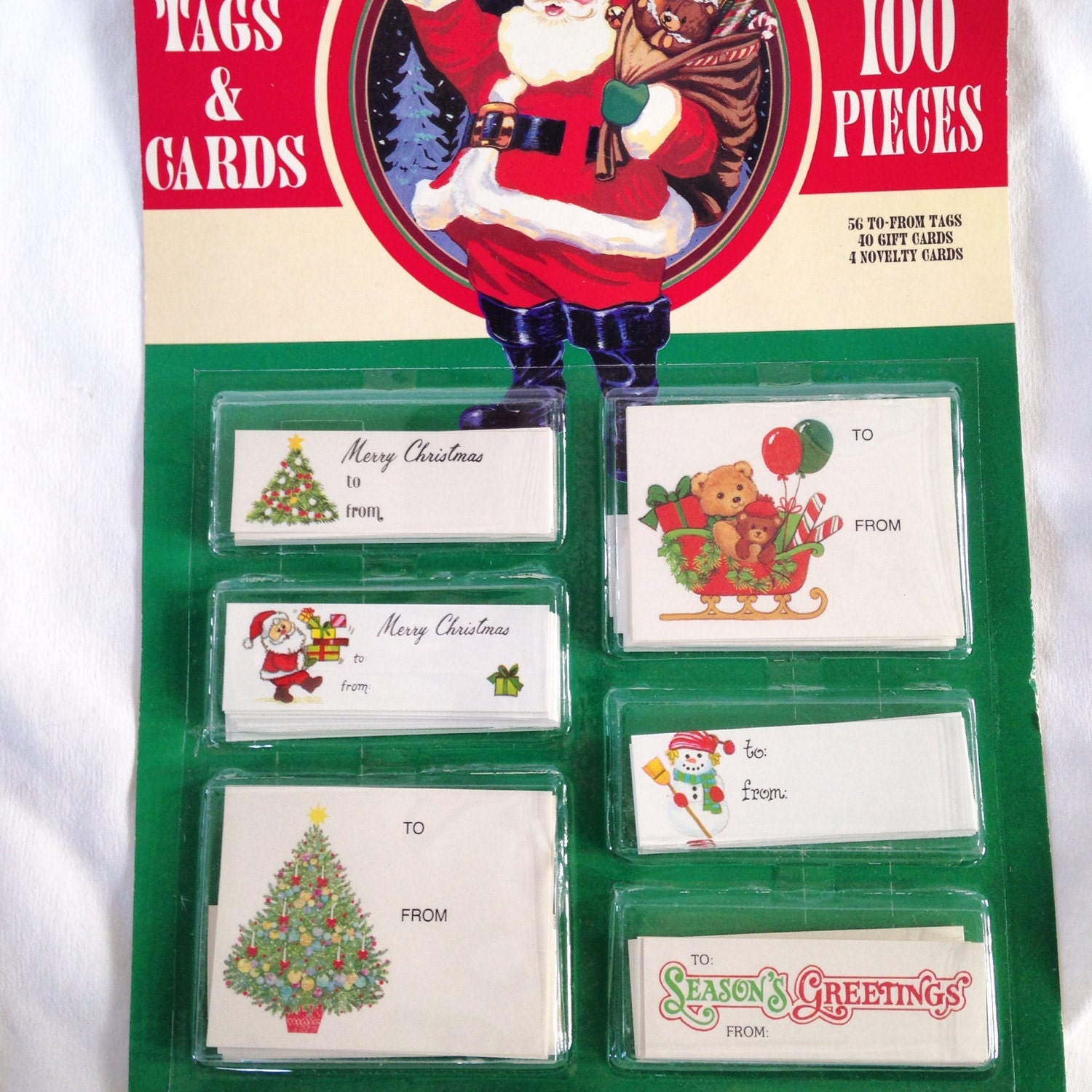 It is a picture of Witty Vintage Christmas Gift Labels