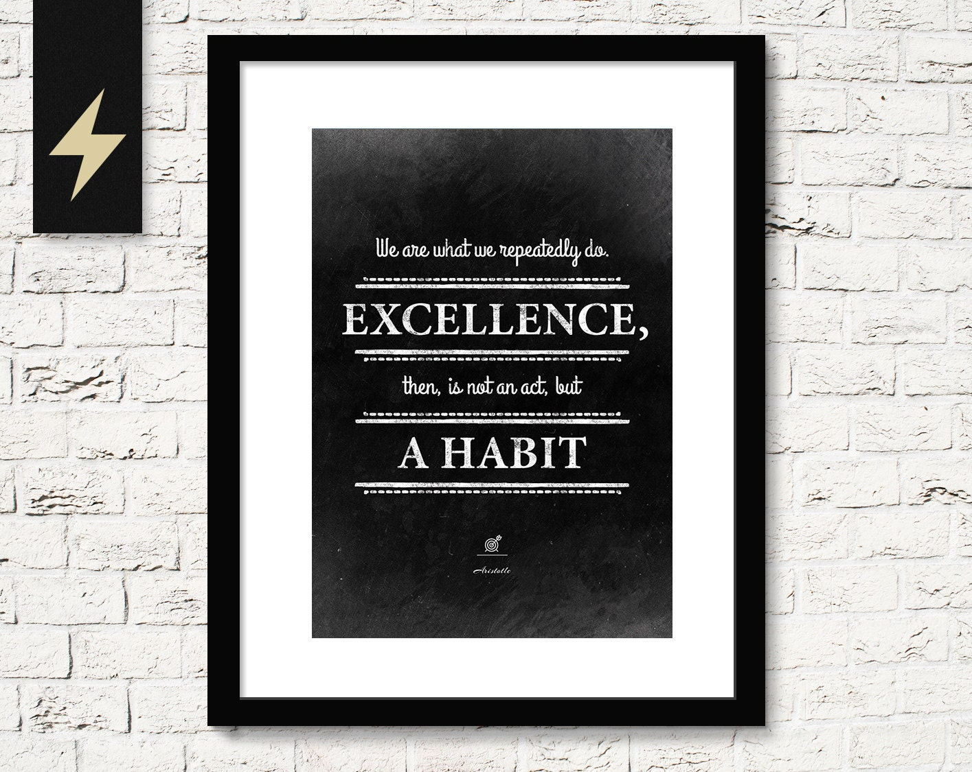 Inspirational Quotes Aristotle By Ibbds: Motivational Quote: Excellence Is A Habit Aristotle