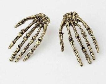 Skeleton Hand Earrings *reduced*