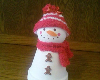 Small Snowman Centerpiece