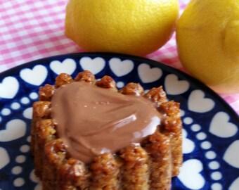 6 Lactation-Boosting Flapjacks with Lemon & Ginger - Made to order