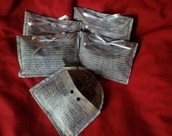 Biodegradable Wedding Confetti Lavender Filled Envelopes x 5