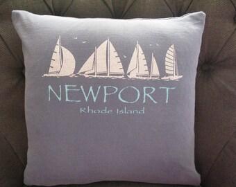 Newport, Rhode Island, Throw Pillow
