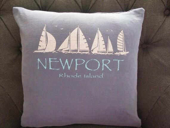 Newport Rhode Island Throw Pillow