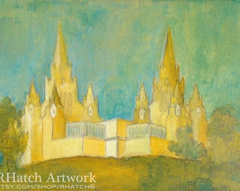 San Diego LDS Temple PRINT, variety of sizes available