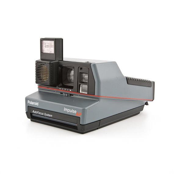 polaroid 600 impulse af auto focus system fully working. Black Bedroom Furniture Sets. Home Design Ideas