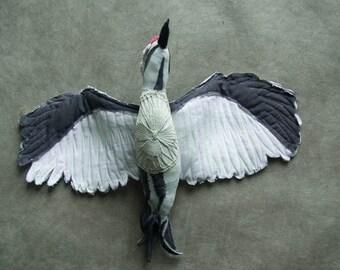 Specht Vögel, Softsculpture, Textill Art, Sculptur,