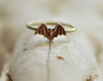 Brass Bat Ring