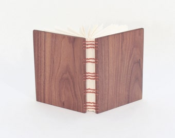 Coptic Stitch Book w/ Walnut Covers