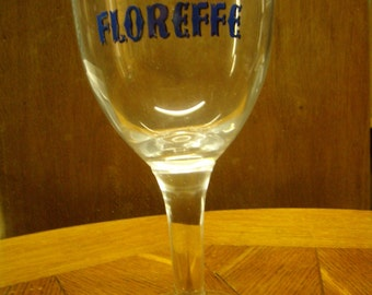Glass collection to beer, Belgian beer, Tulip Floreffe, Abbey beer