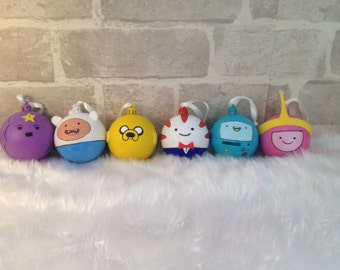Adventure Time Christmas Baubles set of 6
