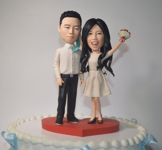 wedding cake toppers personalized figurines wedding cake topper personalized toppers 26575