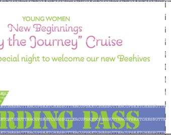 LDS Young Women New Beginnings Cruise Theme