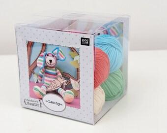 Crochet Toy - Lenny the Rabbit