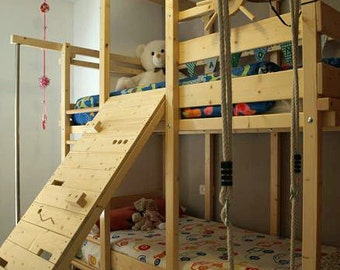 Child berth with games
