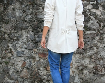ON SALE!!! ByMyBoyfriend Shirt With Bow Detail