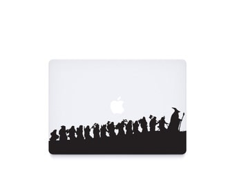 Hobbit-----Macbook Decal Macbook Sticker Mac Decal Mac Sticker Decal for Apple Laptop Macbook Pro