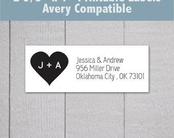 Avery address label   Etsy
