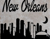"Set of 4 ""New Orleans"" Coasters.  Free Shipping"