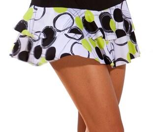 Tennis Flounce Skirt