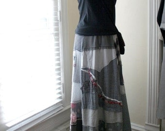 Altered Couture Skirt - by Breathe-Again Clothing