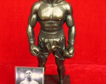 Mike Tyson Rare Limited Edition Figurine Sculpture Only 1000 Made Heavyweight Boxing Champion By LEGENDS FOREVER