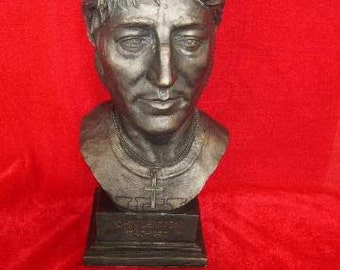 John Lennon Beatles Limited Edition Bust Figurine Only 1000 Made By LEGENDS FOREVER Statue Model With Collectors Card