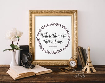 Printable Quote wall art decor home quote print hand lettering home art print calligraphy typography home decor diy INSTANT DOWNLOAD