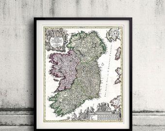 Ireland - Geographicus Ireland - Homann - 1716 - SKU 0011