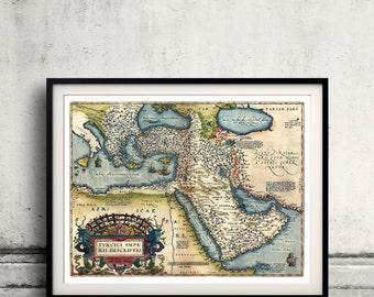 Map of The Ottoman Empire - 1570 - SKU 0236