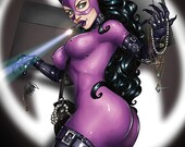 Caught Red Handed - Catwoman, Large Print