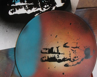 Brand New Deja Entendu, Spray Painted Vinyl