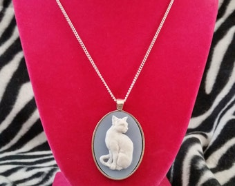 Atomic Kitty Cat Necklace