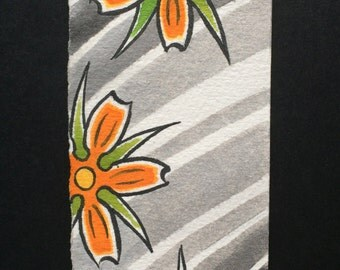 Orange Blossoms with Wind