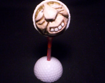 Carved Golf Ball