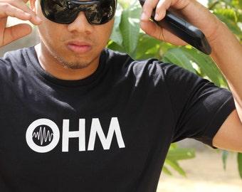 OHM logo tee